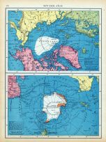 Page 124 - North Pole and South Pole, World Atlas 1911c from Minnesota State and County Survey Atlas